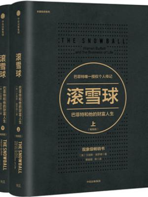 《滚雪球:巴菲特和他的财富人生(共两册)》pdf电子书下载