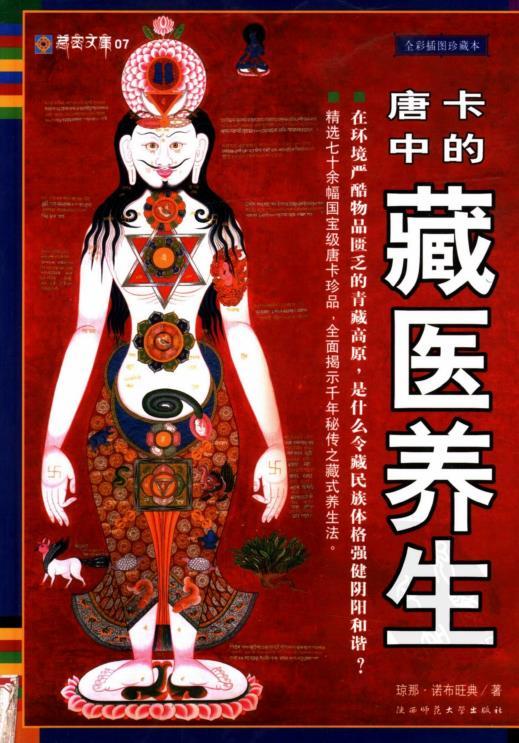 《唐卡中的藏医养生》PDF免费图书下载