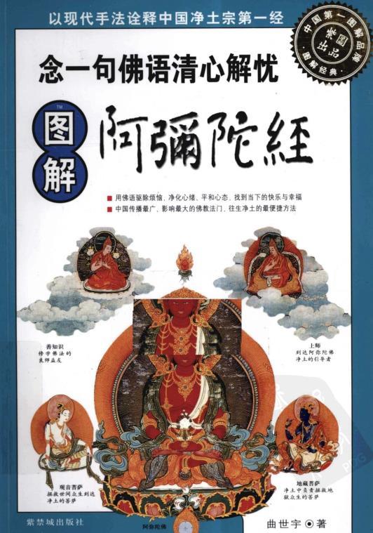 《图解阿弥陀经:念一句佛语清心解忧》PDF电子书下载
