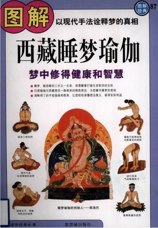 《图解西藏睡梦瑜伽:梦中修得健康和智慧》PDF资源下载