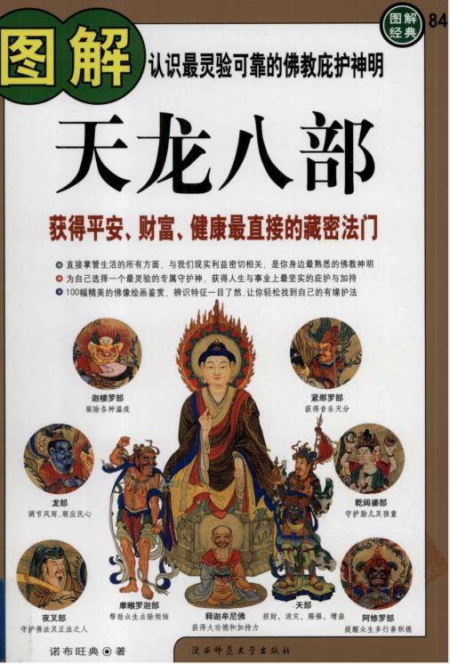 《图解天龙八部:获得平安、财富、健康最直接的藏密法门》PDF下载