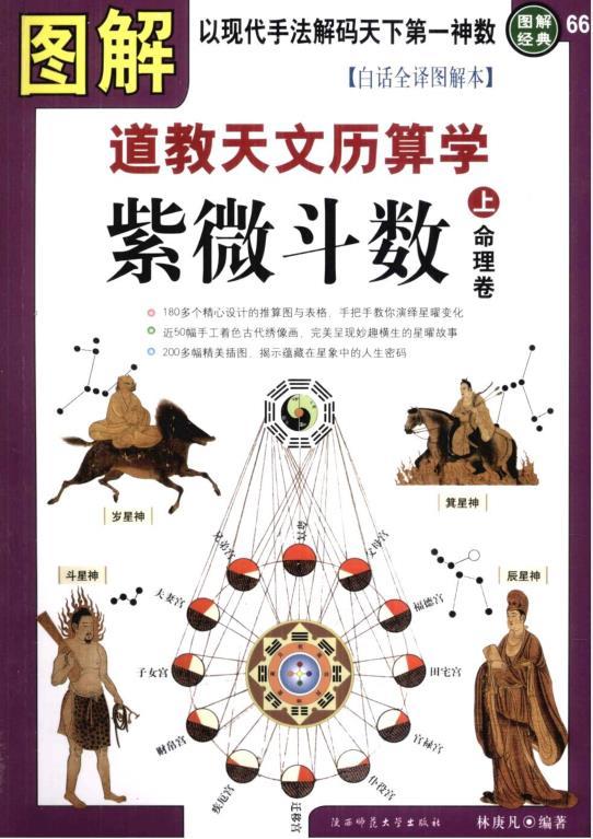 《图解紫微斗数-道教天文历算学(上下册)》PDF电子书下载