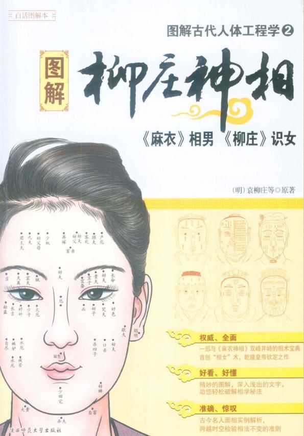 《图解柳庄神相-古代人体工程学2》PDF格式下载